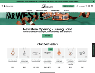 love-and-co.com screenshot