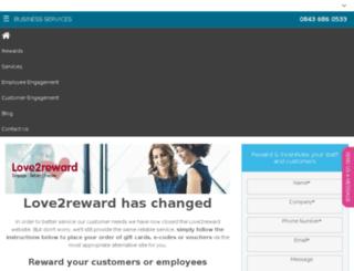 love2reward.co.uk screenshot