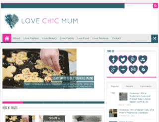 lovechicmum.com screenshot