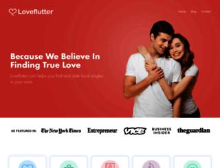loveflutter.com screenshot