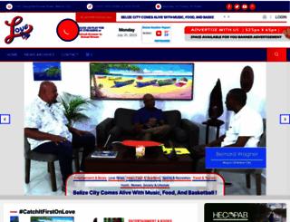 lovefm.com screenshot