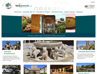 lovegranada.com screenshot
