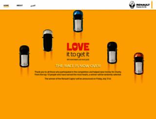 loveit.renault-me.com screenshot