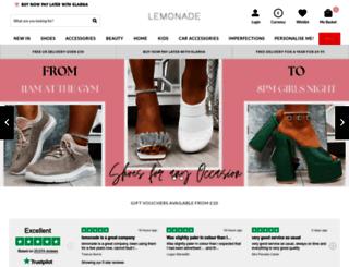 lovelemonade.com screenshot