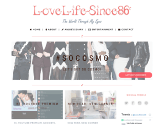 lovelifesince86.com screenshot