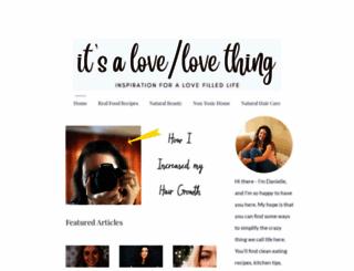 lovelovething.com screenshot