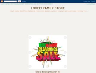 lovelyfamilystore.blogspot.com screenshot