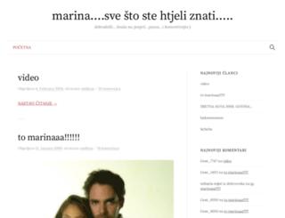 lovemarina.blogger.ba screenshot