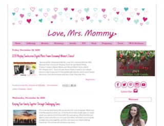 lovemrsmommy.com screenshot