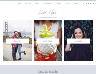 loveniki.com screenshot
