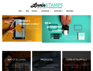 lovenstamps.com screenshot