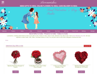 lovenwishes.com screenshot