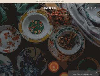 loveramics.com screenshot