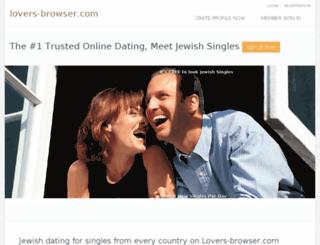 lovers-browser.com screenshot