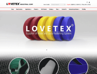 lovetex.com.tw screenshot
