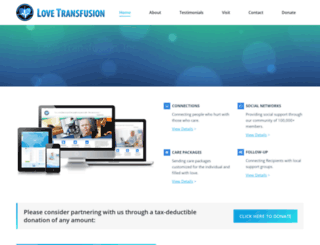 lovetransfusion.net screenshot