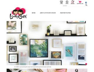 loveygift.com.my screenshot