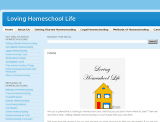 loving-home-life.blogspot.com screenshot