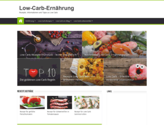 lowcarb-ernaehrung.info screenshot