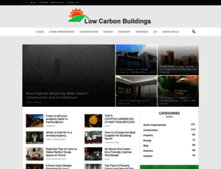 lowcarbonbuildings.org.uk screenshot