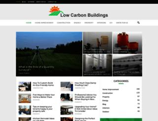 lowcarbonbuildings.org.uk screenshot