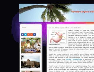 lowcostobesitysurgeryiniidia.jimdo.com screenshot