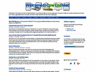 lowendmac.com screenshot