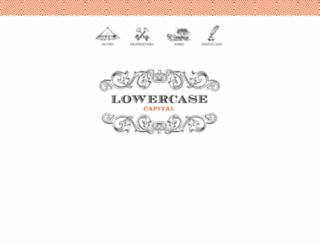 lowercasecapital.com screenshot