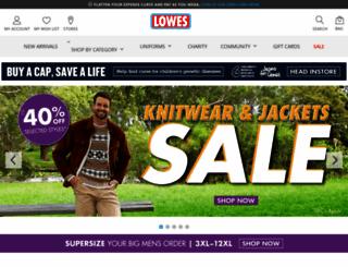 lowes.com.au screenshot