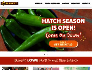 lowesmarket.com screenshot