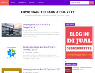 lowongandijogja.blogspot.co.id screenshot