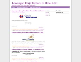 lowongankerja-perhotelan.blogspot.com screenshot