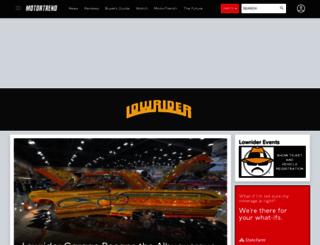 lowrider.com screenshot
