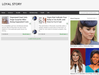 loyalstory.com screenshot