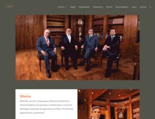 lozanogracia.com screenshot