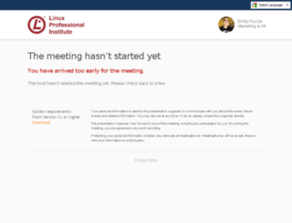 lpi.enterthemeeting.com screenshot