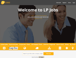 lpjobs.com screenshot