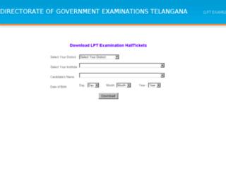 lpt.bsetelangana.org screenshot