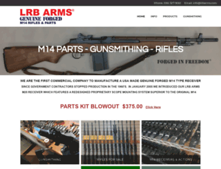 lrbarms.com screenshot