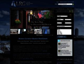 lrgboston.com screenshot