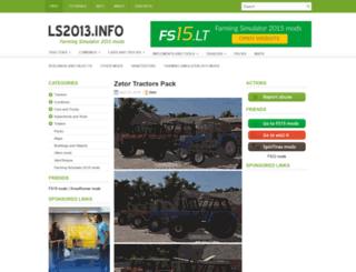 ls2013.info screenshot