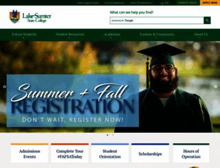 lssc.edu screenshot