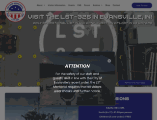 lstmemorial.org screenshot