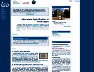 lsv.ens-cachan.fr screenshot
