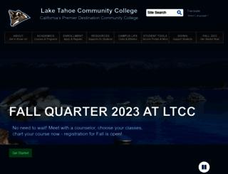 ltcc.edu screenshot