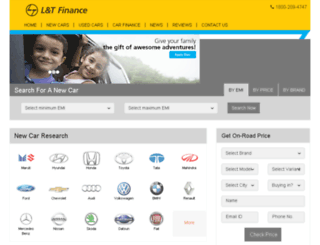 ltfinance.gaadi.com screenshot