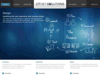 lttnetsolutions.com screenshot