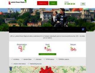 lubelskirower.pl screenshot