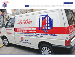 lubenpinturas.com screenshot
