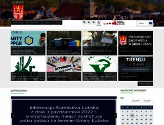 lubsko.pl screenshot